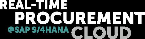 Real-Time Procurement Cloud - s/4hana ready